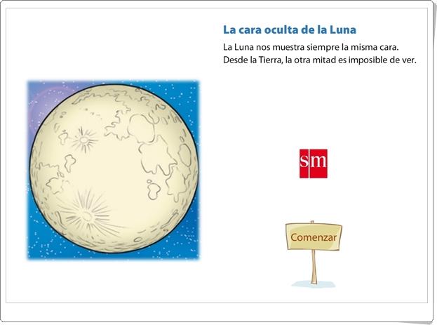 """""""La cara oculta de la Luna"""" (Presentación animada de Ciencias Sociales de Primaria)"""