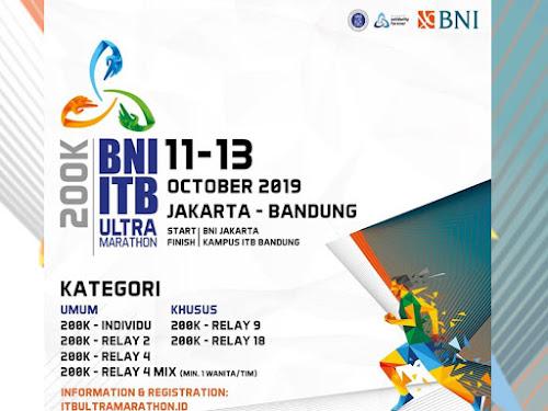 BNI ITB Ultra Marathon 2019
