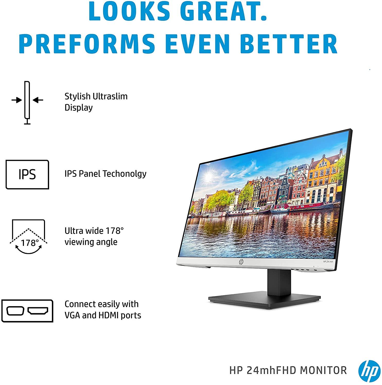 HP 24mh FHD Monitor - Computer Monitor