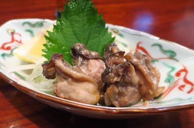Suju Japanese Restaurant, oyster miso oil zuke