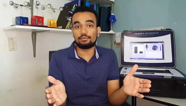 Estudante de TI brasileiro é premiado por criar máquina de 'fala' para pessoas em coma.