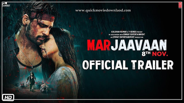 Marjaavaan Full HD Movie Download 720p  (2019)