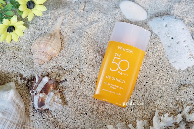 Review Wardah UV Shield Active Protection Serum