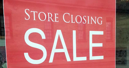 Retail Store Closing - May 27