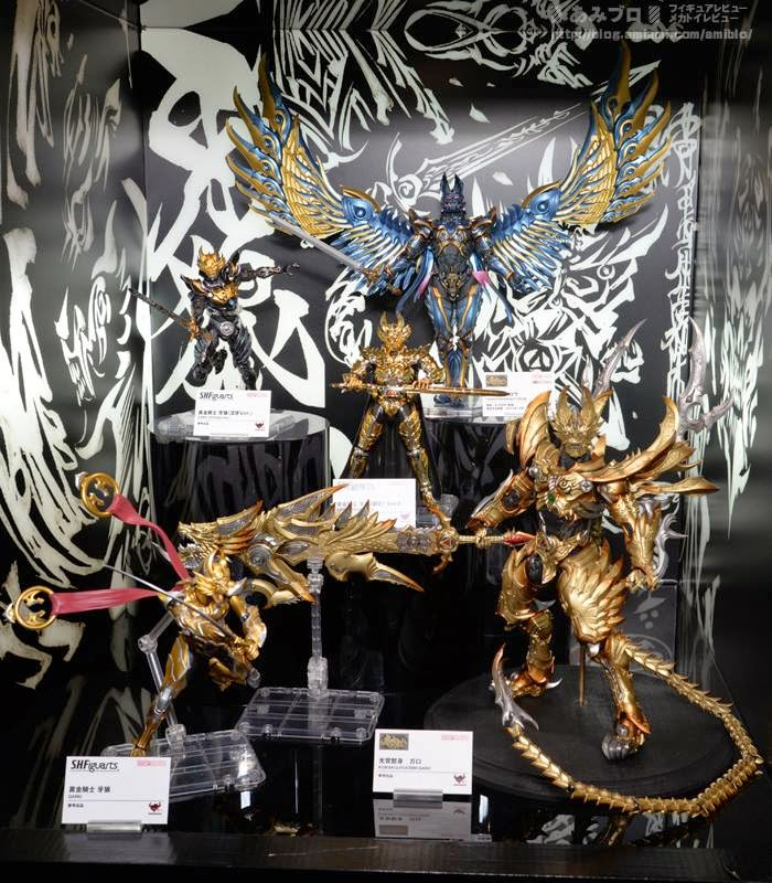 Tamashii Nations Garo Display