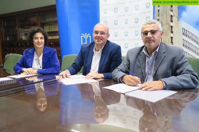 Cabildo e Isonorte renuevan la gestión de 40 plazas para personas con discapacidad dependientes en sus centros ocupacionales