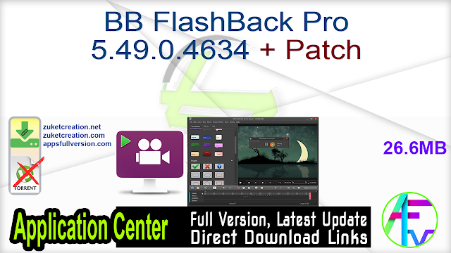 BB FlashBack Pro 5.49.0.4634 + Patch