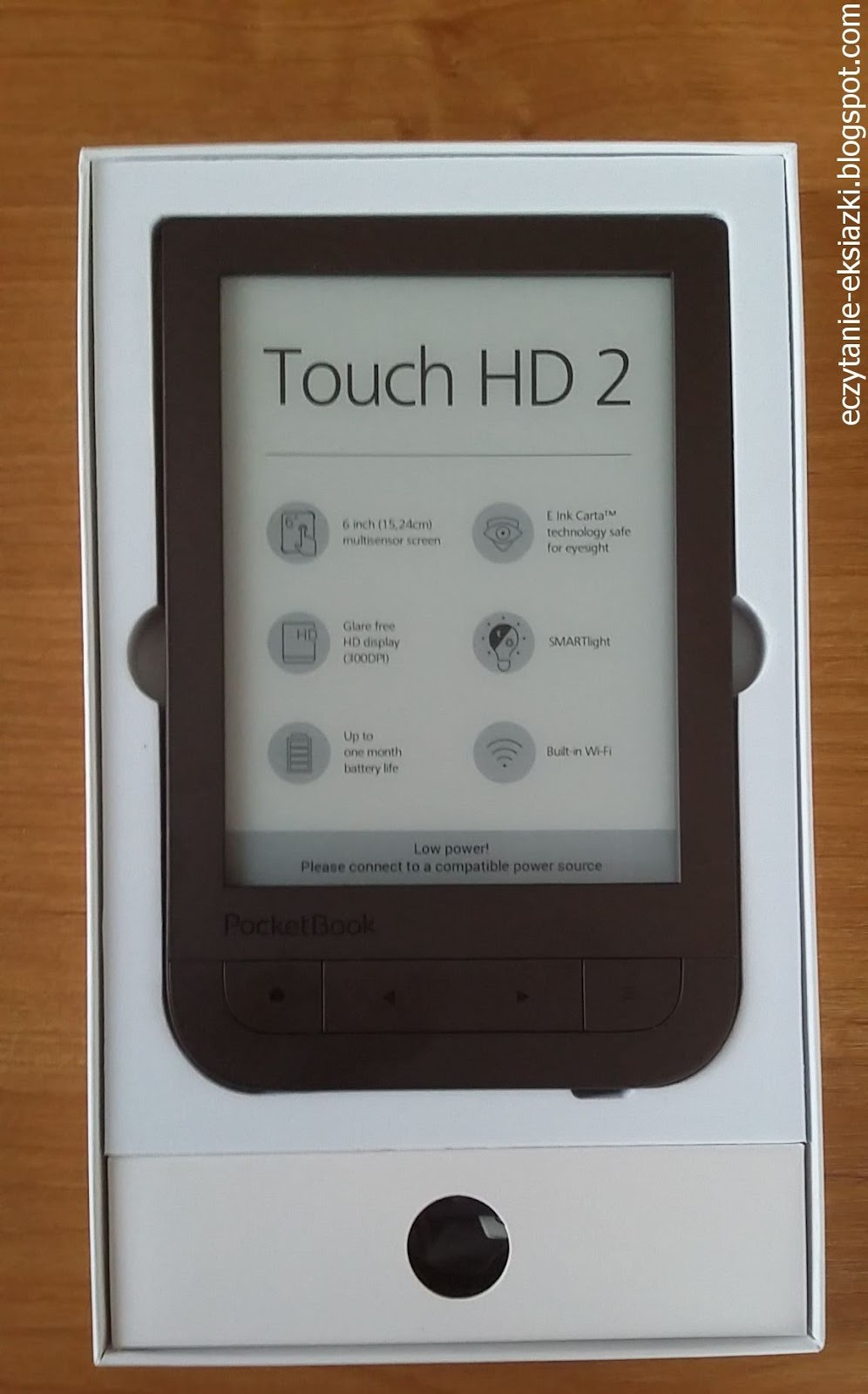 PocketBook Touch HD 2 w pudelku