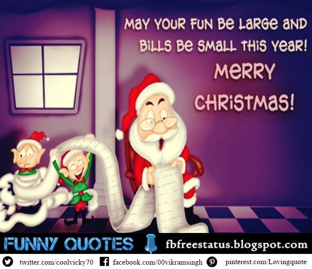 Funny Christmas Messages, Funny Christmas Wishes