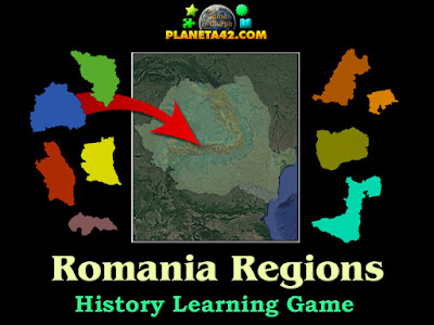 Региони на Румъния Пъзел
