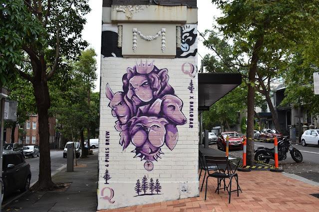 Street Art in Darlinghurst by Joel Ebsworth