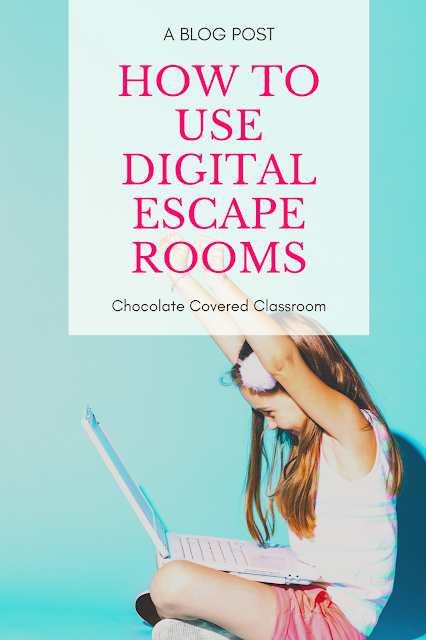 how to use digital escape rooms with upper elementary students