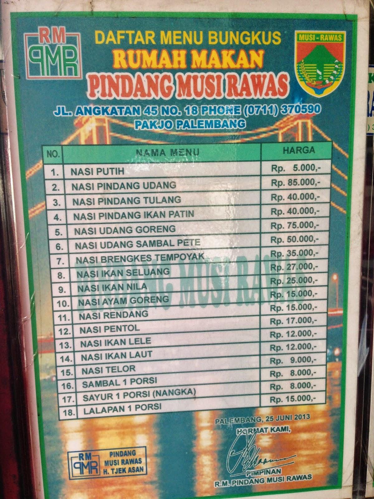 Pindang Musi Rawas : pindang, rawas, Still, Hungry:, Rumah, Makan, Pindang, Rawas, Palembang
