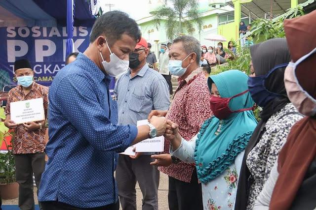 Rudi Targetkan Seluruh Kecamatan di Hinterland Harus Bebas Covid-19