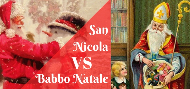 San Nicola VS Babbo Natale
