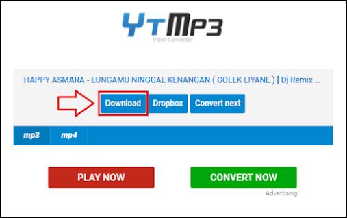 Cara download mp3 dari youtube - 3a