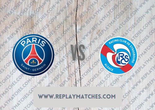 PSG vs Strasbourg -Highlights 14 August 2021