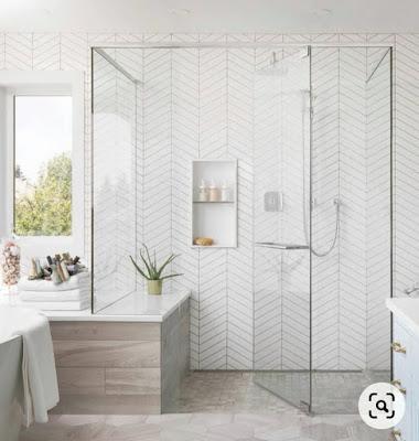 Desain Keramik Kamar Mandi Minimalis 2021