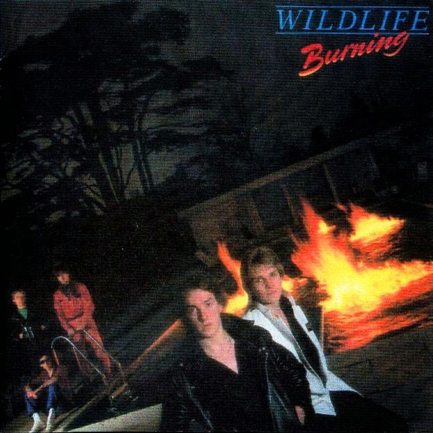 Wildlife Burning 1980 aor melodic rock overland