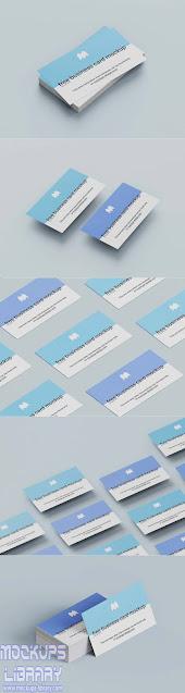 standard business card mockup 1