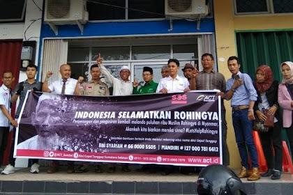 1500 Relawan FPI Sumsel bersiap berangkat ke Myanmar Bela Muslim Rohingya, Kalau Abu Janda?