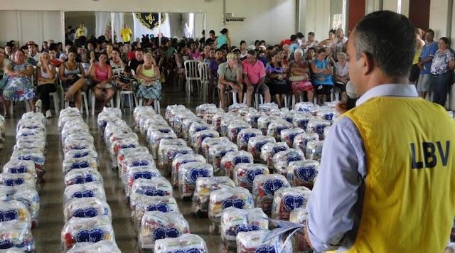 LBV iniciou Campanha para arrecadar doações para ajudar famílias da Paraíba