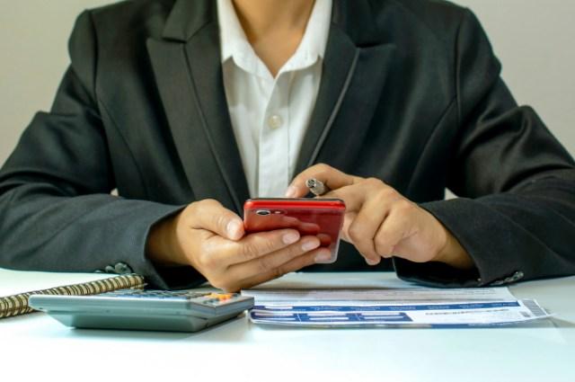 cara kerja mobile banking