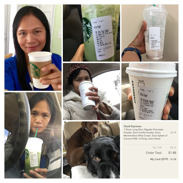 starbucks coffee, frappuccino, ABC Wednesday