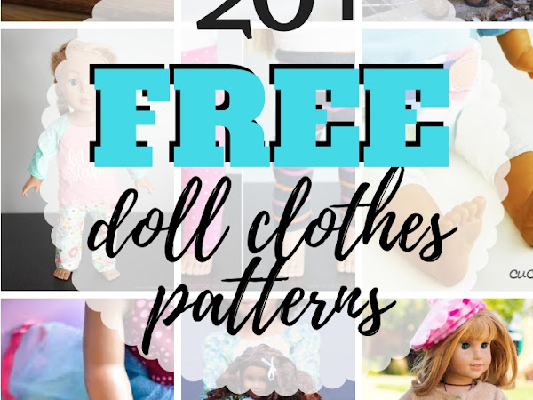 Free Doll Clothes Patterns - For All Types of Dolls