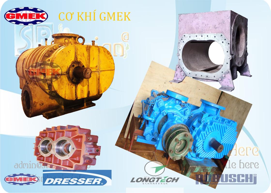 Sửa chữa quạt roots blower, thiết kế chế tạo quạt roots, sửa chữa máy thổi khí, bảo dưỡng máy thổi khí
