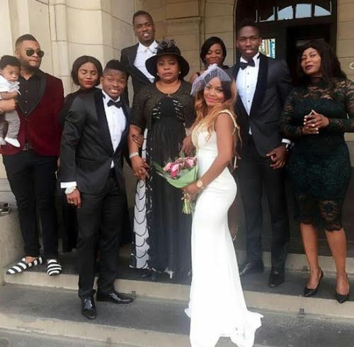 Super Eagle player Lucky Omeruo wed her woman today.
