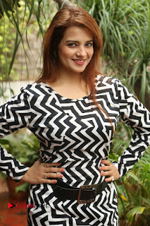 Actress Saloni Latest Pos in Short Dress  0003.JPG