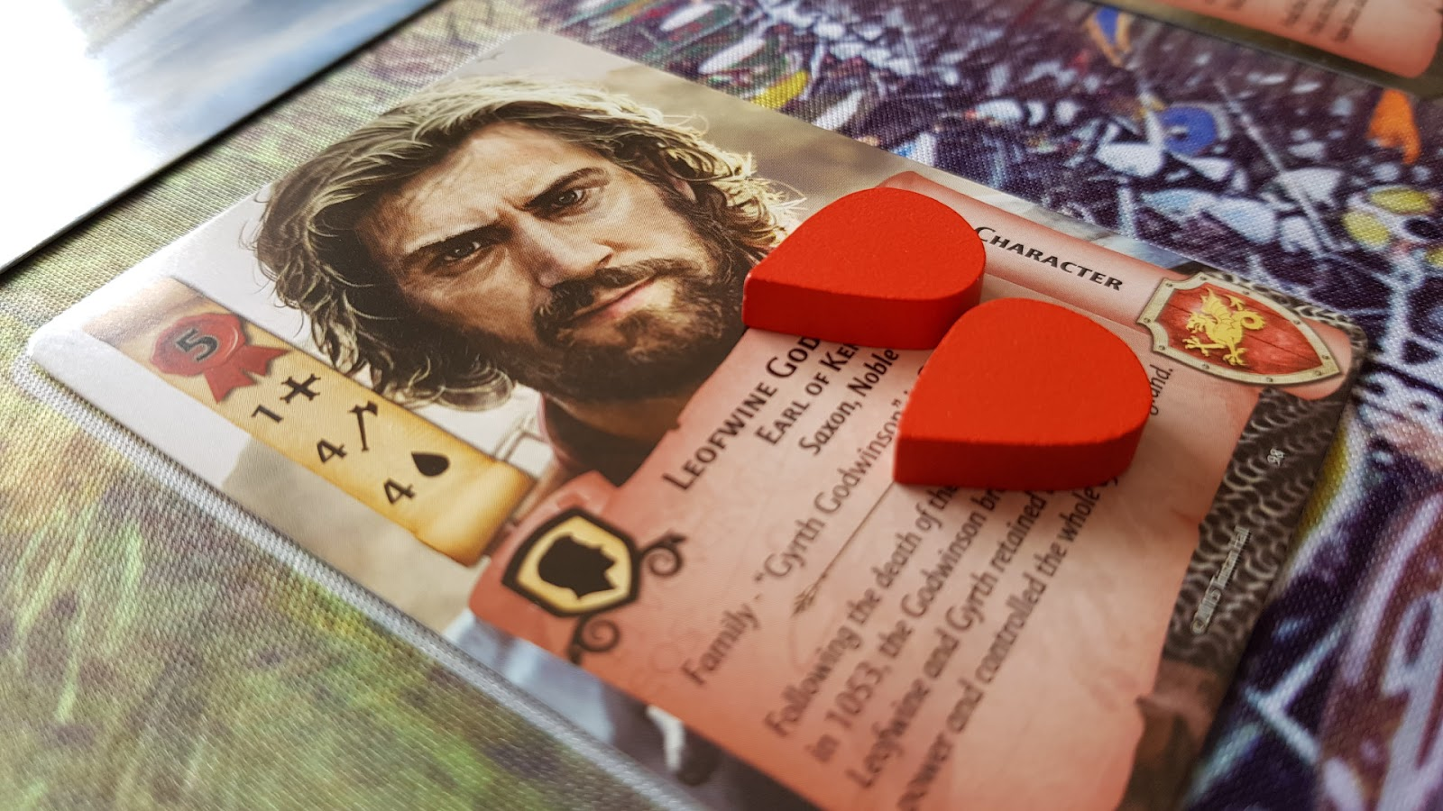1066 Tears to Many Many Mothers Board Game Review - Wounded Character
