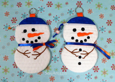 Mets Fan Snow Couple Zipper Cases