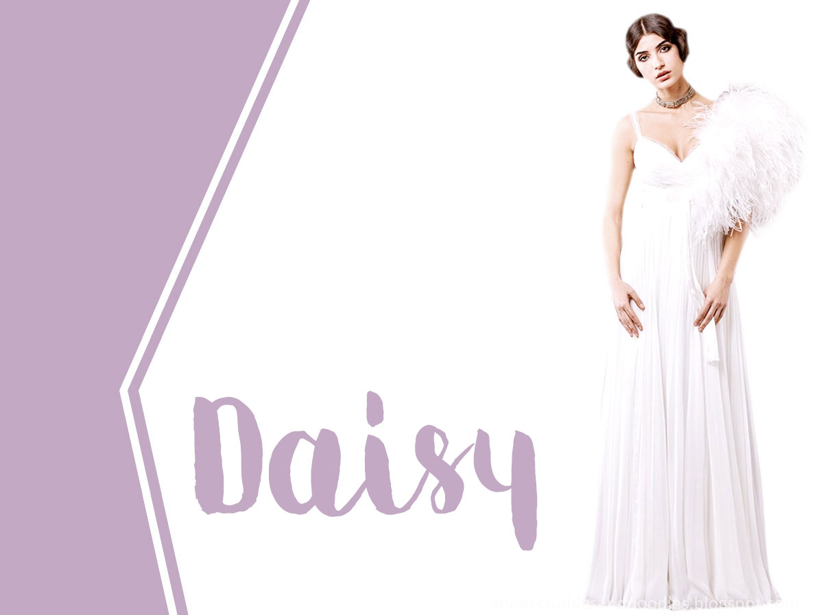 Film and Book Brides | Daisy Buchanan of The Great Gatsby