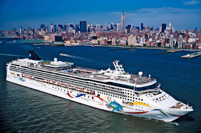 Norwegian Cruise Line Norwegian Dawn One of 7 NCL Ships Sailing From New York