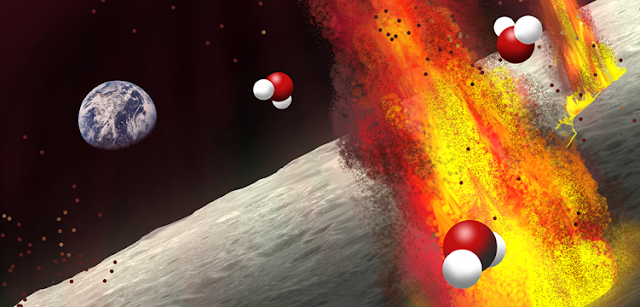 Evidence from ancient volcanic deposits suggests that lunar magma contained substantial amounts of water, bolstering the idea that the Moon's interior is water-rich. Credit: Olga Prilipko Huber