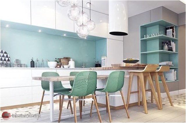Colorful Kitchen Designs 10