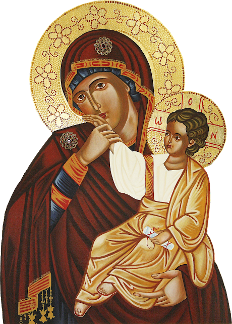 Our Lady with Baby Jesus PNG