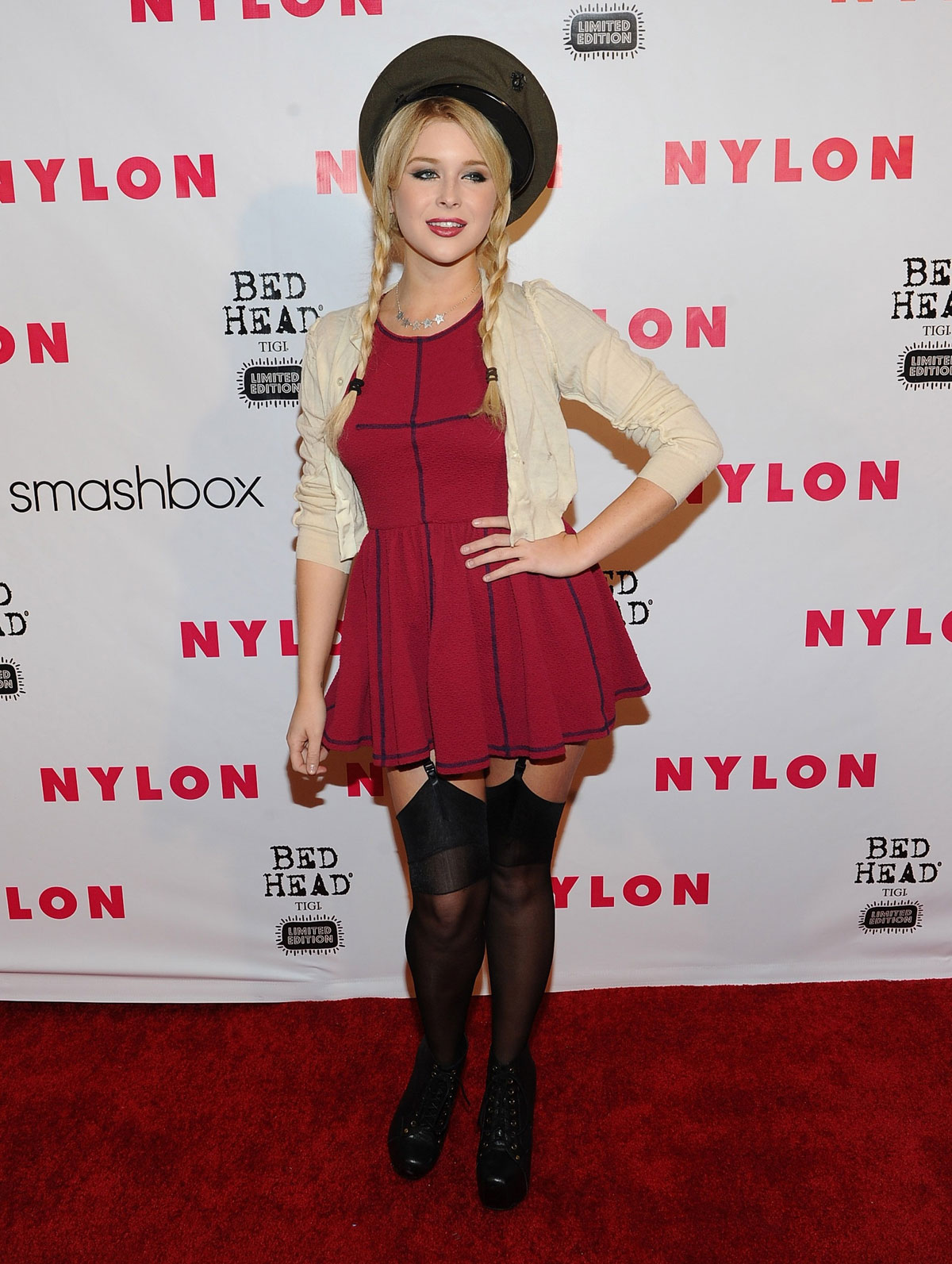 HD Photos of Renee Olstead At Nylon Magazine 13th Anniversary In West Hollywood