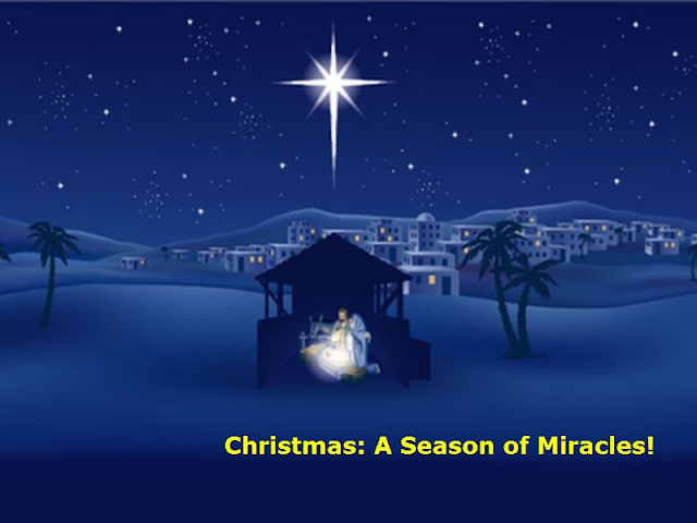 Image result for miracles at christmas time