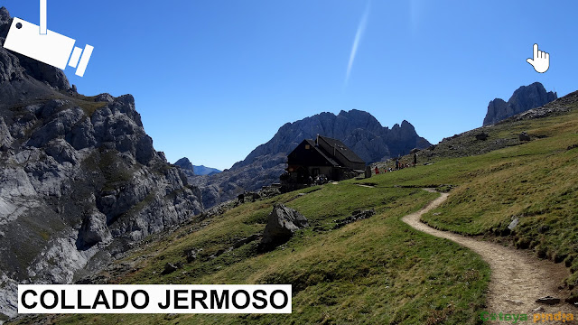 Webcam Refugio de Collado Jermoso en Picos de Europa