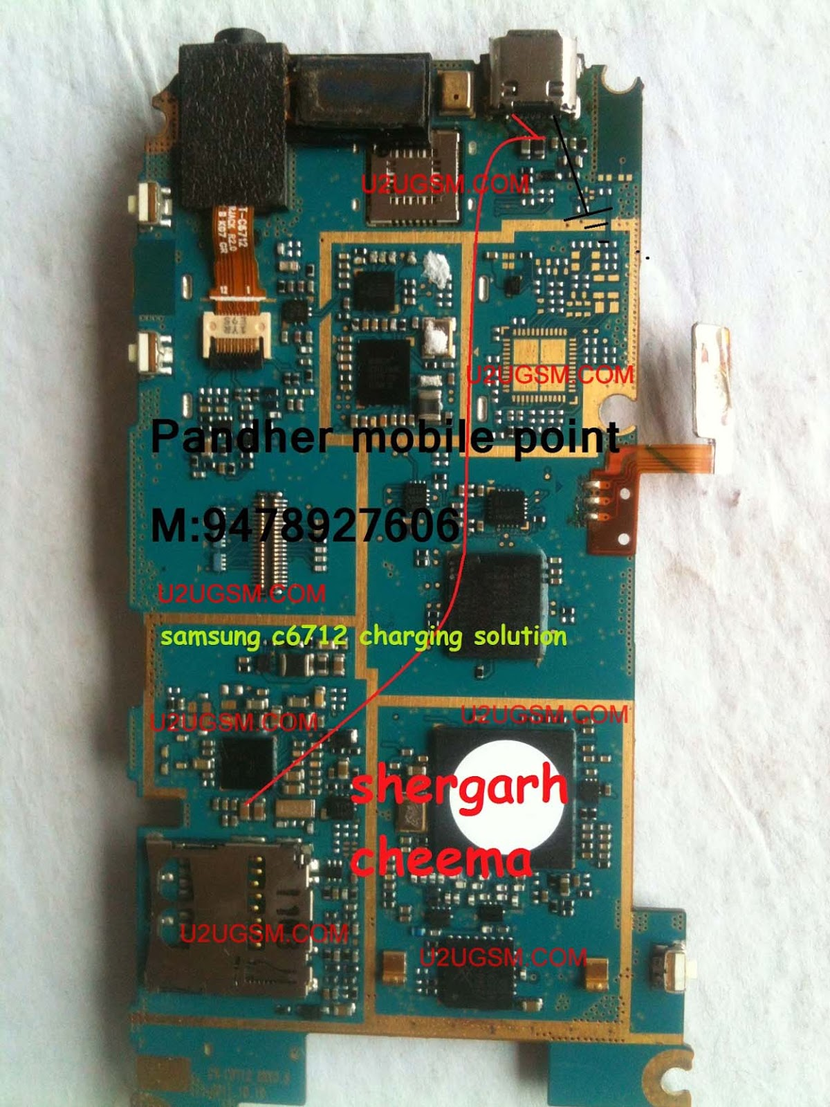 Samsung C6712 Star Ii Duos Charging Problem Solved
