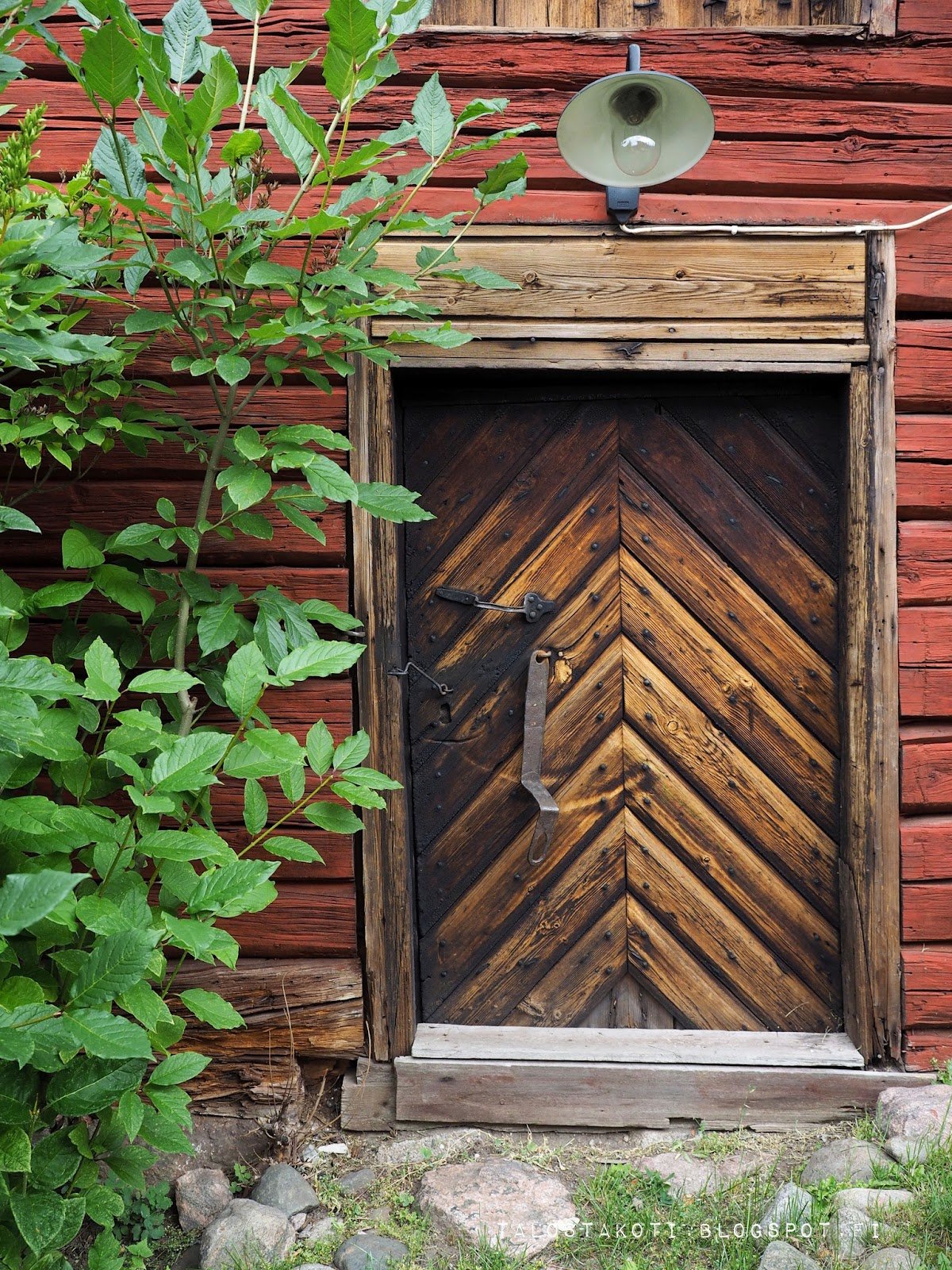 Porvoo ranta-aitat vanha ovi