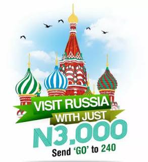 Win a Trip to Russia for the FIFA World Cup - Glo GO Russia Promo
