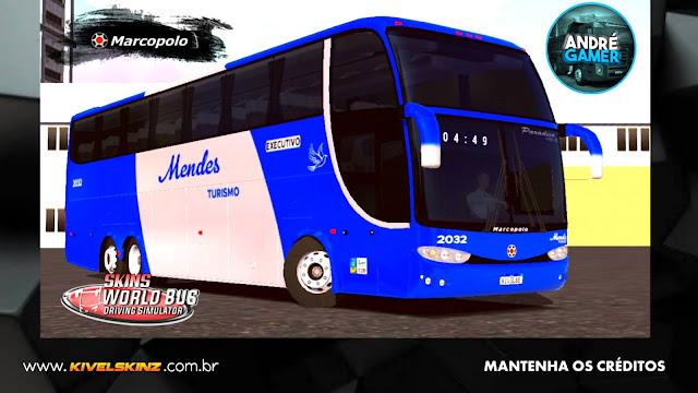PARADISO G6 1550 LD - VIAÇÃO MENDES TURISMO