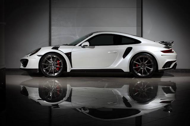 TopCar Garap Porsche 911 Jadi Bertenaga 750 hp Mirip Aventador