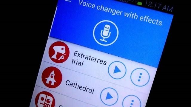 Voice changer with effects 3.7.4 Apk mod - Thay đổi giọng nói trên điện thoại