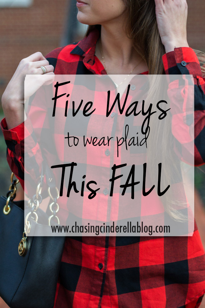 Ways to wear plaid this fall
