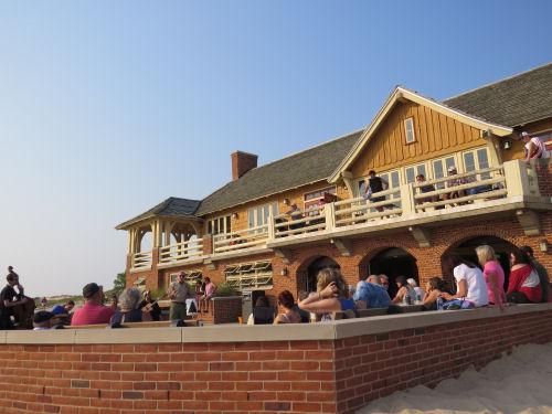 Ludington State Park beach house